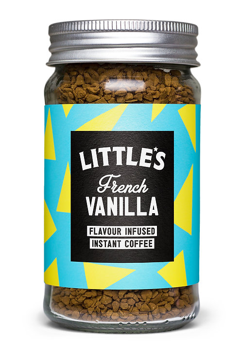 French Vanilla Flavour Infused Instant Coffee