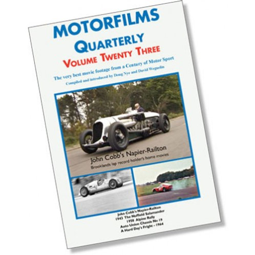 Motorfilms Quarterly Volume 23: DWPDVD3023
