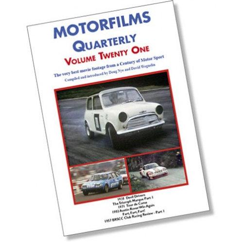 Motorfilms Quarterly Volume 21: DWPDVD3021