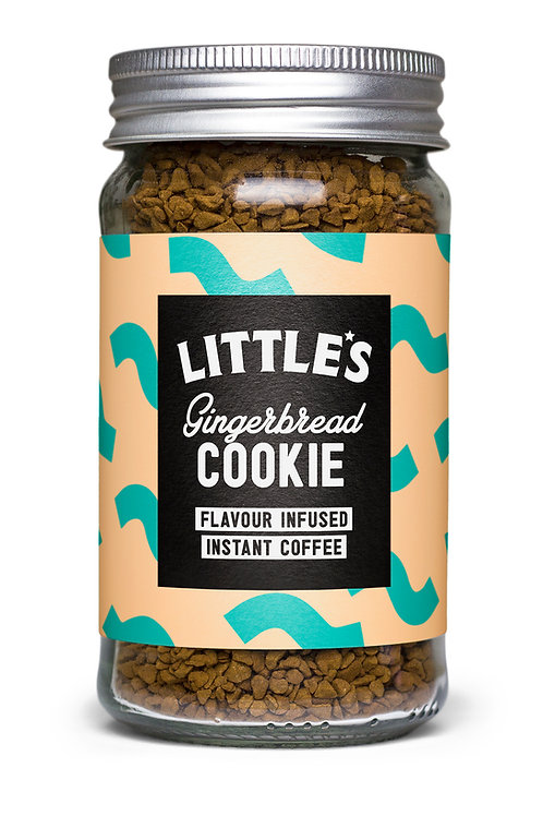 Gingerbread Cookie Flavour Infused Instant Coffee