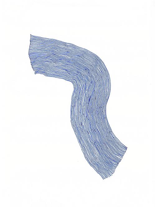 Wave - A4 print