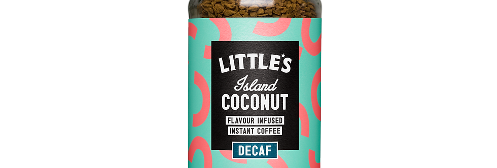 Island Coconut Flavour Infused Instant DECAF Coffee