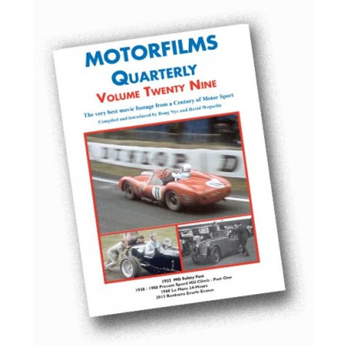 Motorfilms Quarterly Volume 29: DWPDVD3029