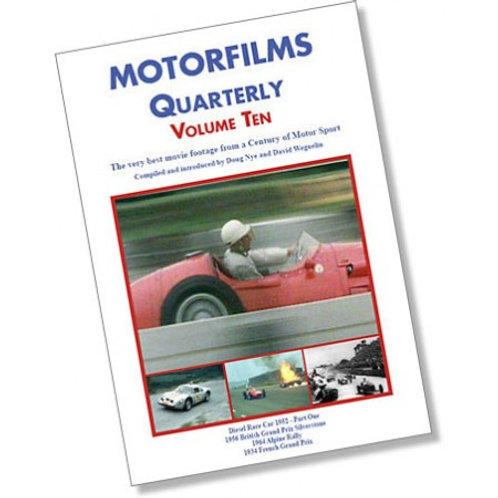 Motorfilms Quarterly Volume 10: DWPDVD3010