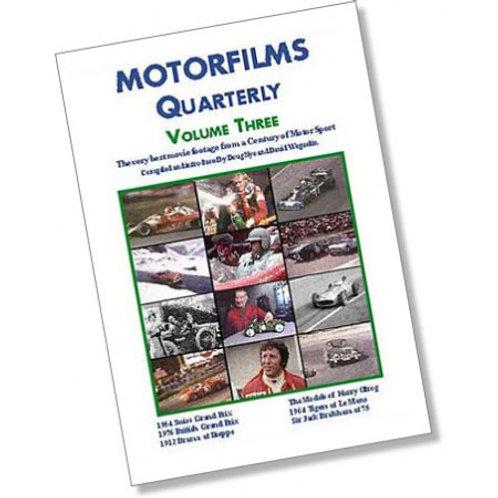 Motorfilms Quarterly Volume 3: DWPDVD3003