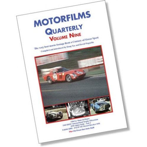 Motorfilms Quarterly Volume 9: DWPDVD3009