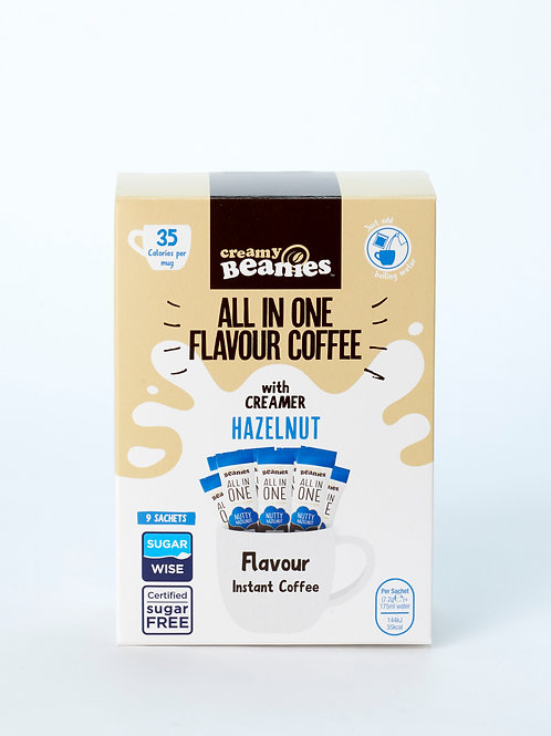 All in One Nutty Hazelnut.  Coffee, flavour and creamer