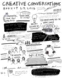 Creative Conversation Sketch Notes Augus