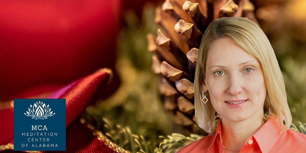 CHRISTMAS CANDLELIGHT MEDITATION FOR WOLD PEACE WITH DAWN BARIE