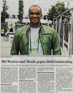 Hannoversche Allgemeine Zeitung 01.10.2020