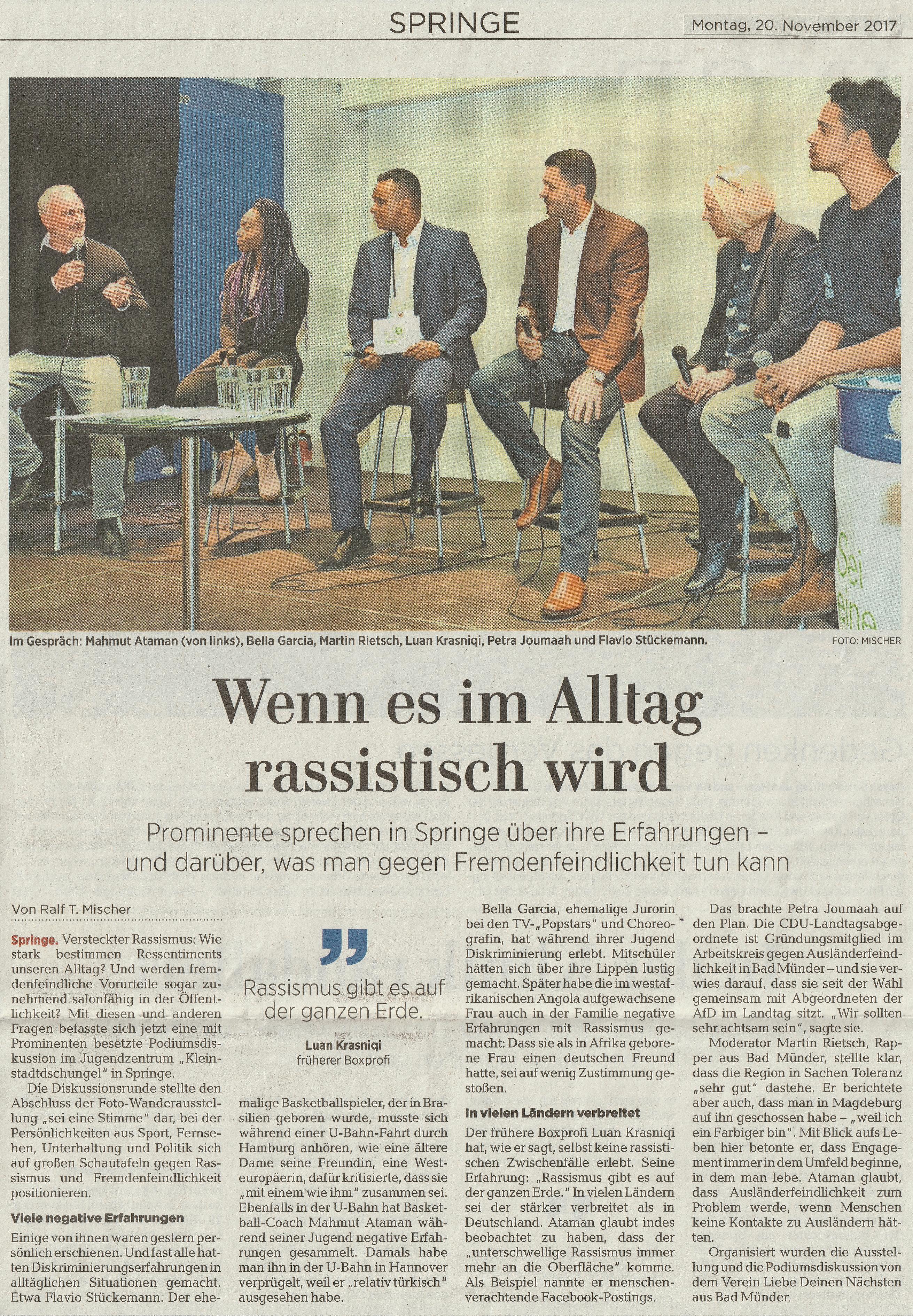 Neue Presse 20.11.2017