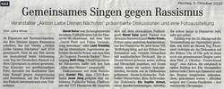 Hannoversche Allgemeine Zeitung 05.10.2020
