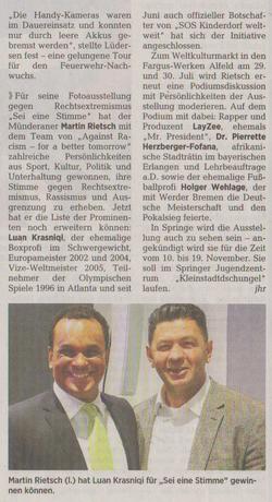 Neue Deister Zeitung 08.07.2017