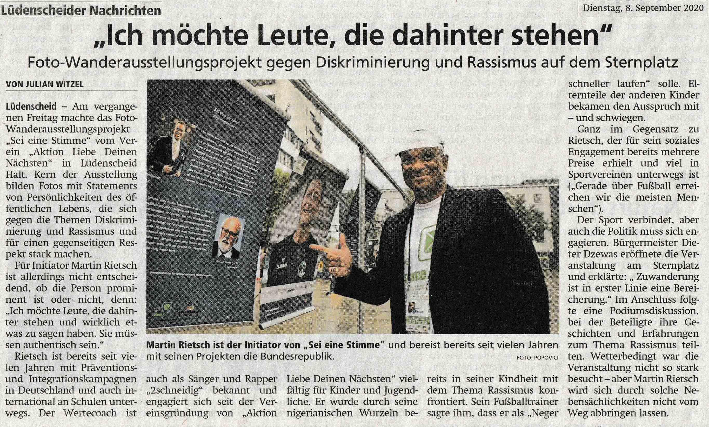 Lüdenscheider Nachrichten 08.09.2020