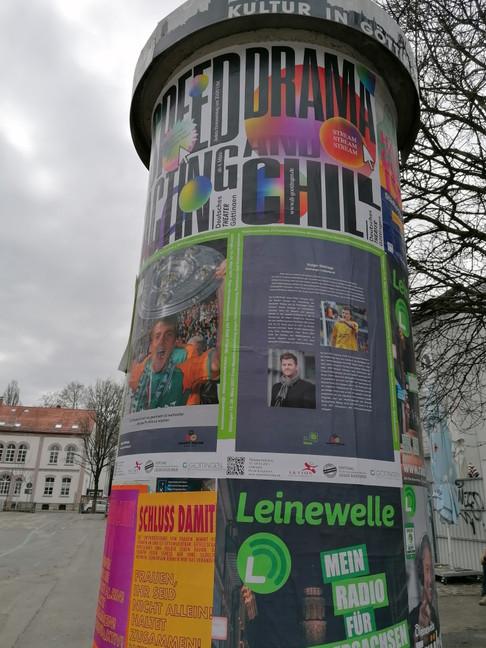 Sei eine Stimme - Kultursäule Göttingen