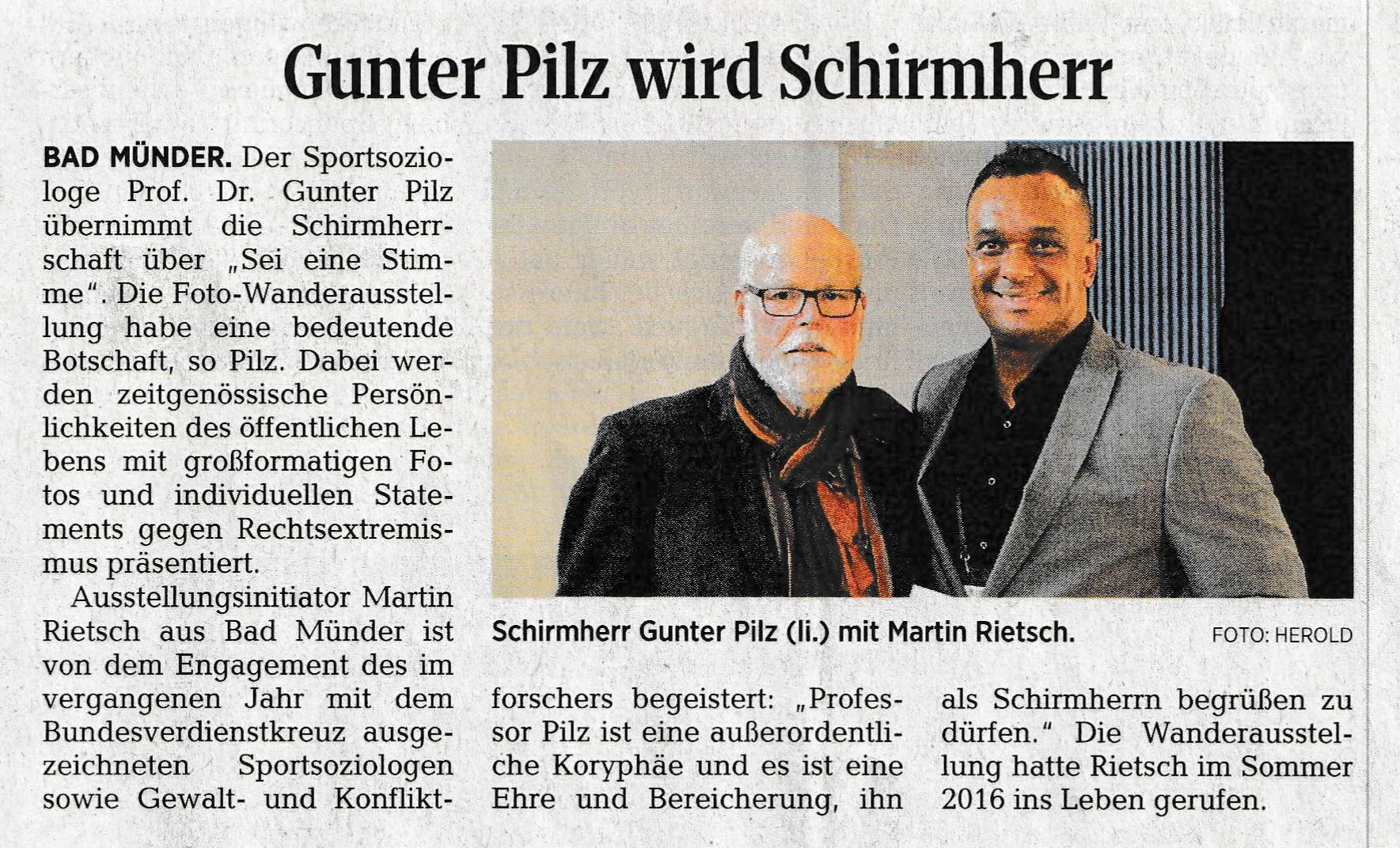 Neue Deister Zeitung 13.07.2018