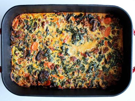 Spicy Italian Kale Casserole
