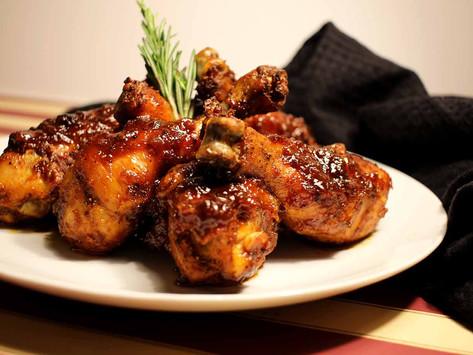Whiskey BBQ Chicken Drumsticks