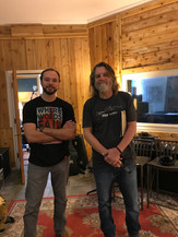 Justin & Walt in studio