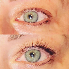Another successful lash lift & tint 😍 p