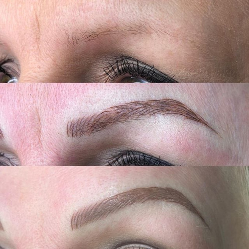 4 week Brow top-ups, completely finish o