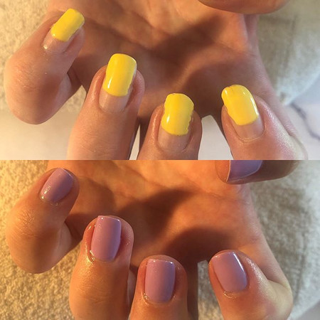 🤩 That nail growth though!!__ 🤩 ._._Be