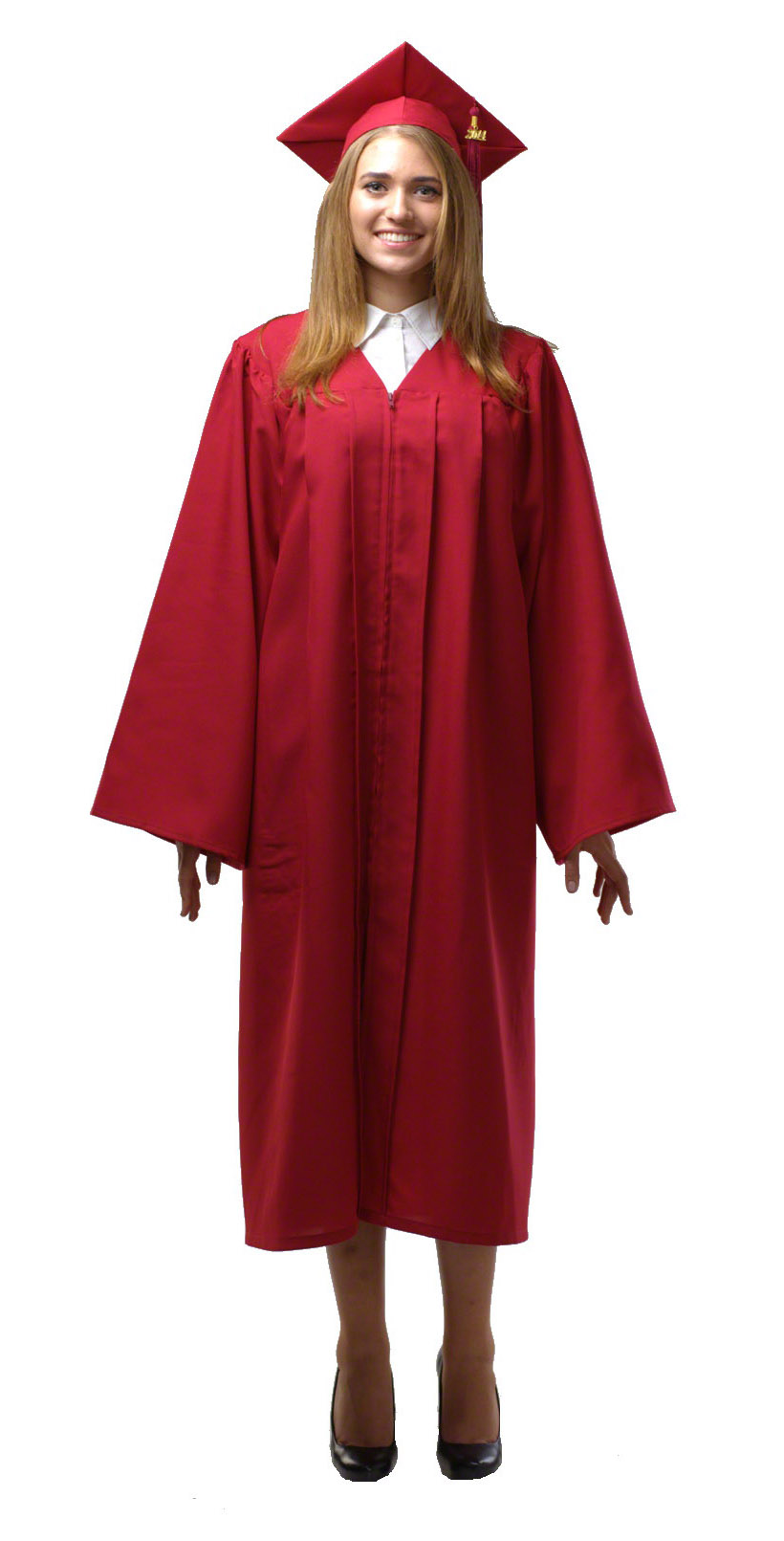 Maroon_gown_front