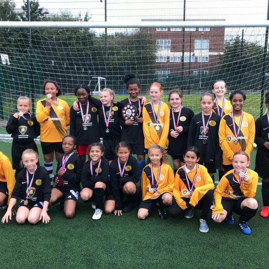 BPSFA Girls 7 a side Champions 2017
