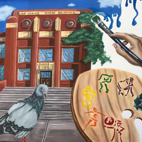"""Art School in Vegas"" by Megan Libres, Class of 2019"