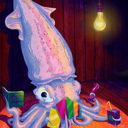 """Squids & Squids"" by Sydney Burns, Class of 2018"