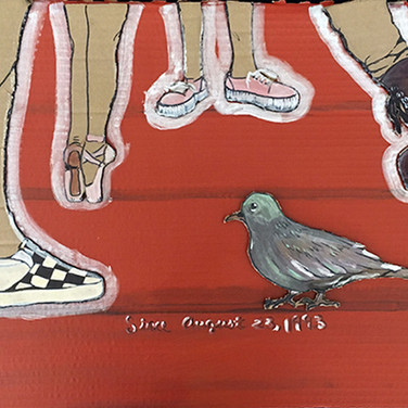 """""""Shoes"""" by Andress Belk, Class of 2019 2nd Place – LVA Legacy"""