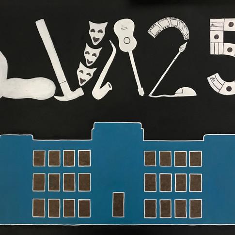 """""""LVA 25"""" by Carolina Lazcano, Class of 2019"""