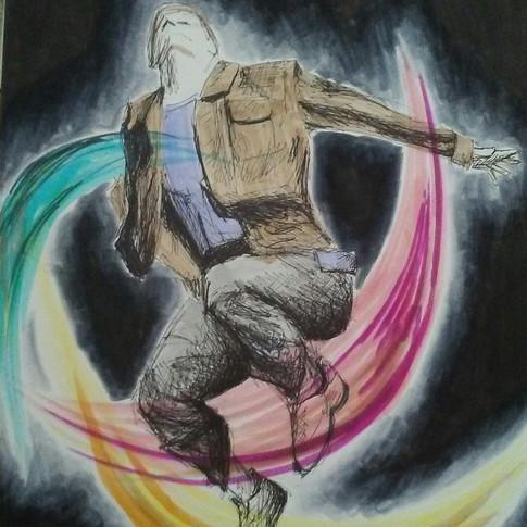"""Jump"" by Annie Zhou, Class of 2020"