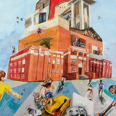 """""""Climbing to Achieve our Dreams"""" by Daven Sohng, Class of 2021 1st Place – LVA Legacy"""
