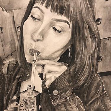 """""""Sluuuurrrrppp!"""" by Alicia Murillo"""