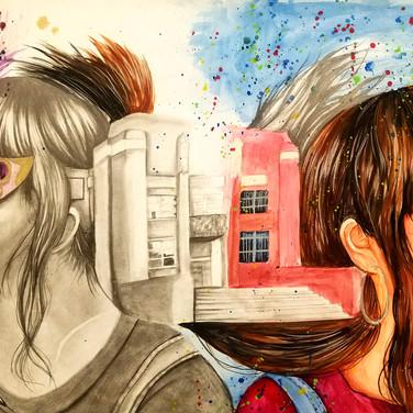 """""""Reawaken"""" by Kailene Zapanta, Class of 2020"""