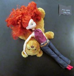 Mabel Wrestles Bear