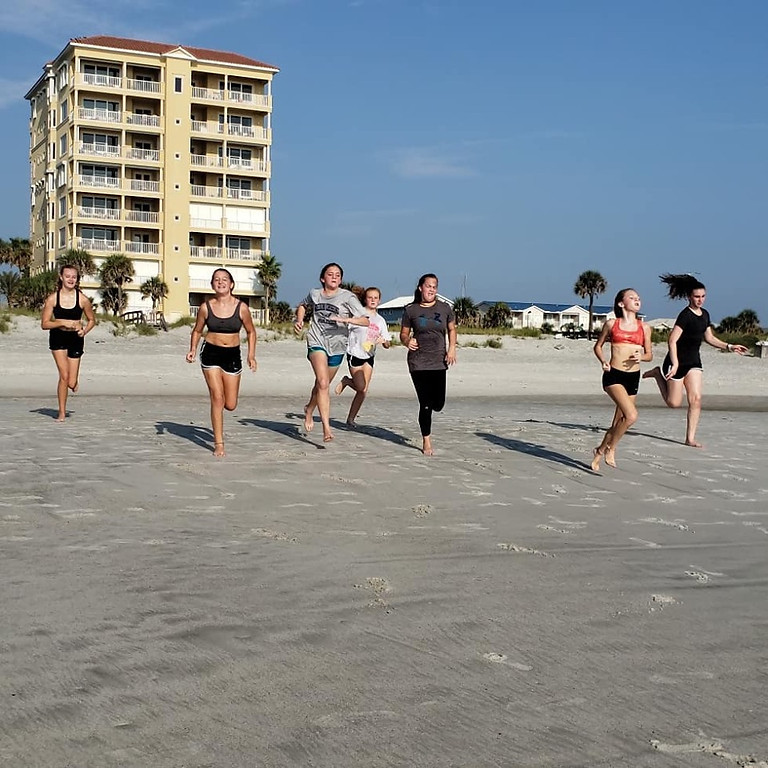Free Beach Workouts coming in early March