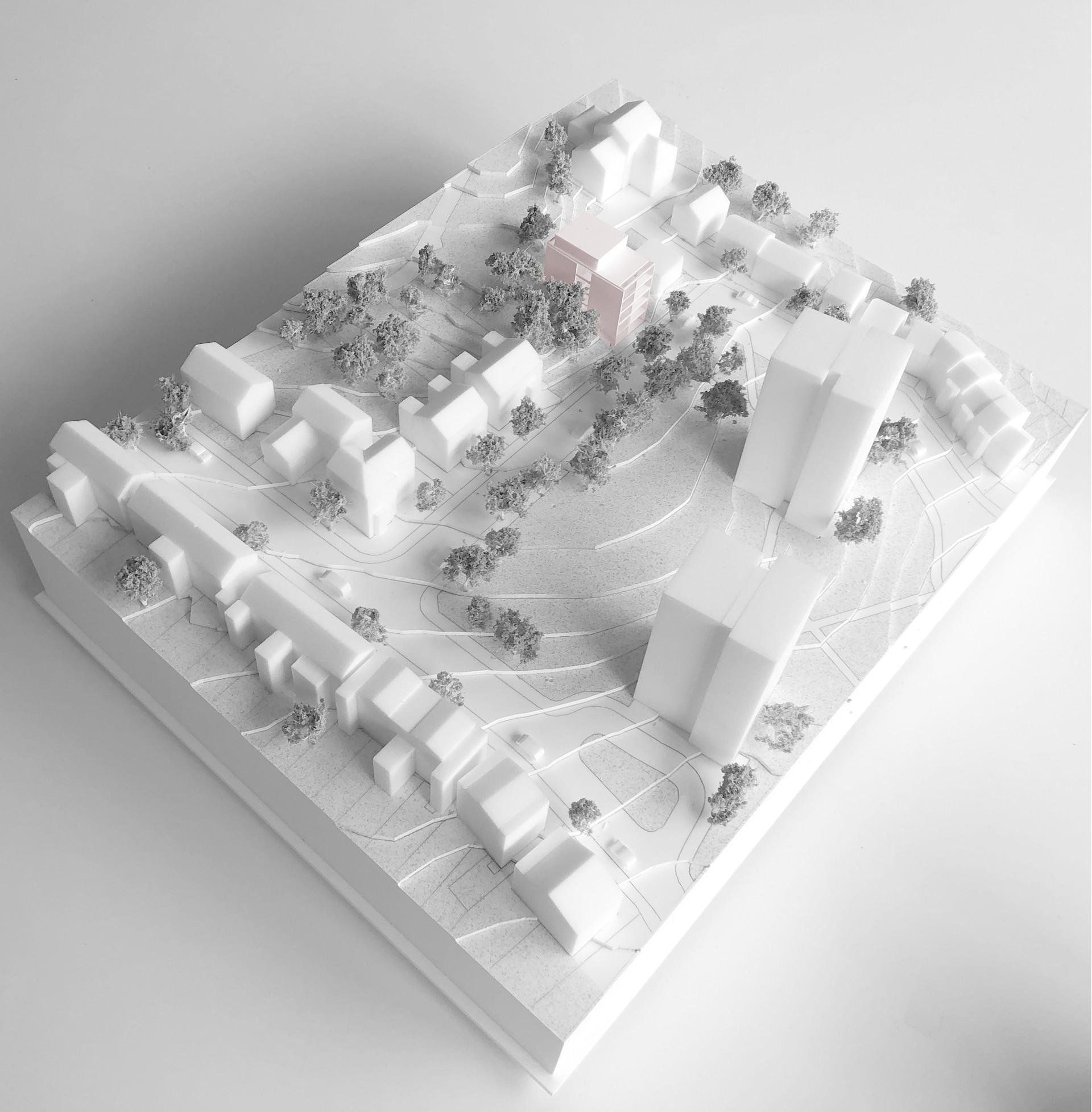 Rye Hill Park Peckham Model