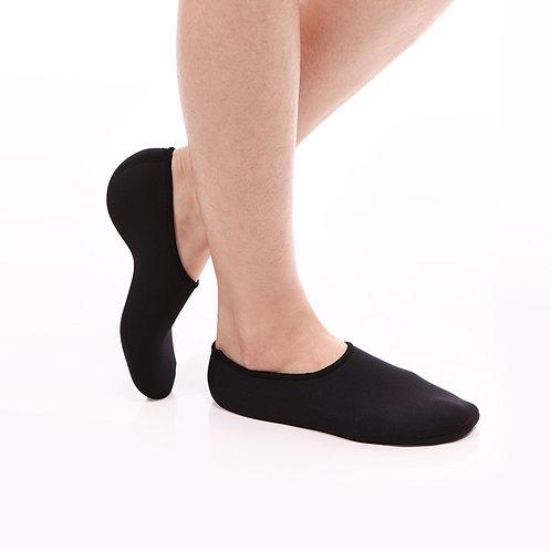 Senteq 鈦金屬纖維室內襪 (黑色)