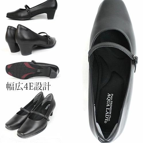 真皮高跟鞋Aqua Lady Premium (拇指外翻適用 4E)