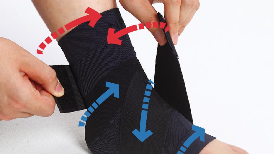 韓國Support PLUS 快貼適肌內貼護踝