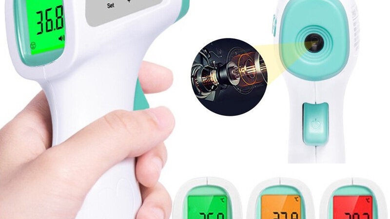 日本RABLISS 免接觸式體溫計
