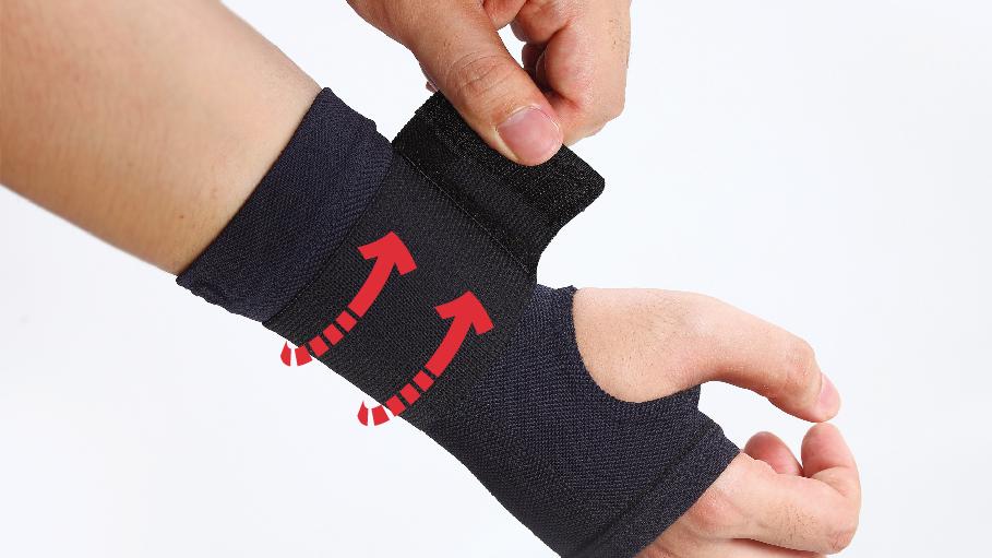 韓國Support PLUS 肌內貼護腕手套