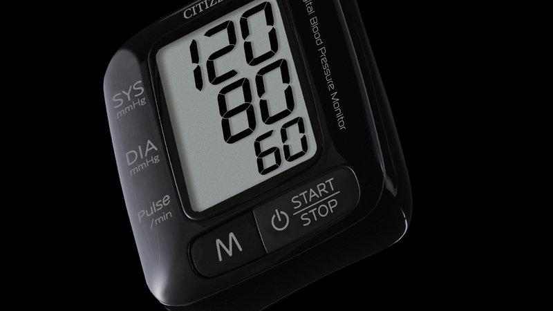 CITIZEN CH650黑 電子血壓計 (手腕式)