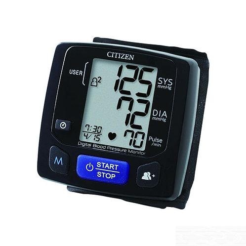 CITIZEN CH-618 電子血壓計 (BISH 認證, 雙人紀錄, 手腕式)