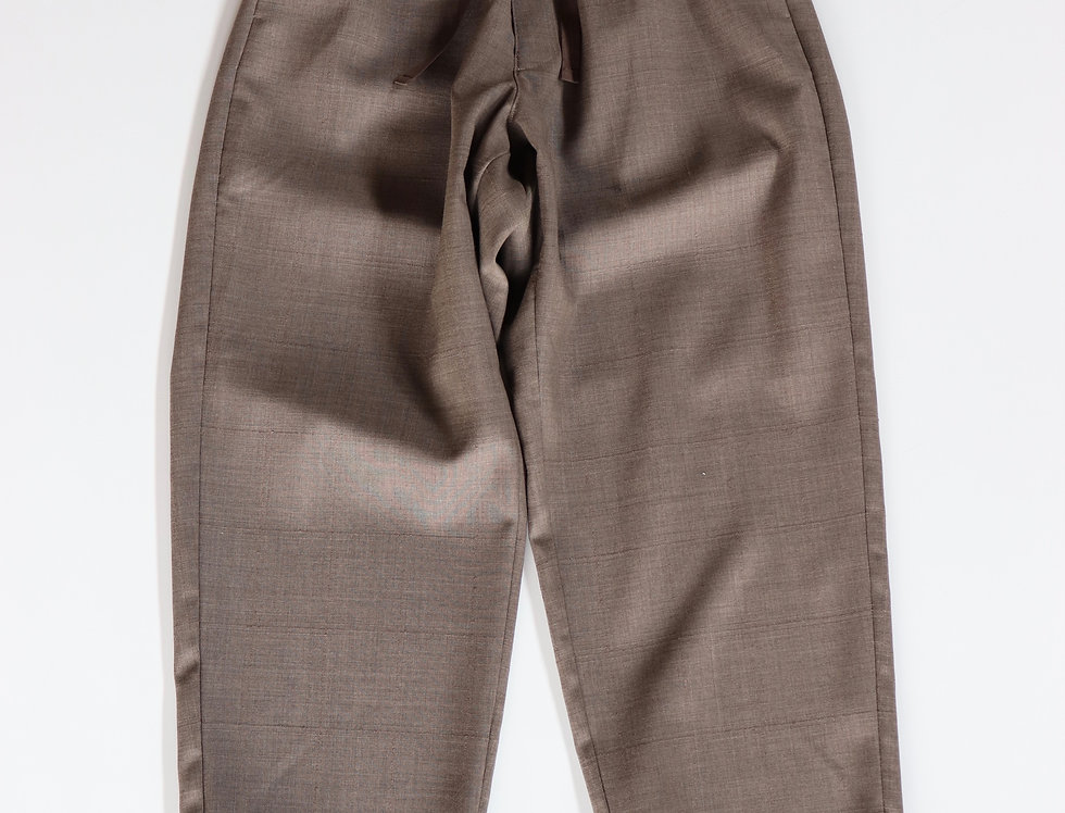 un/unbient EASY PANTS -SHADOW CHECK-
