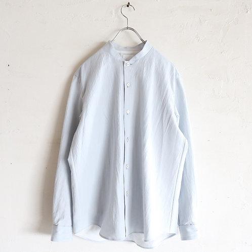 山内 有松塩縮加工リネンシャツ(限定色) -SAX-