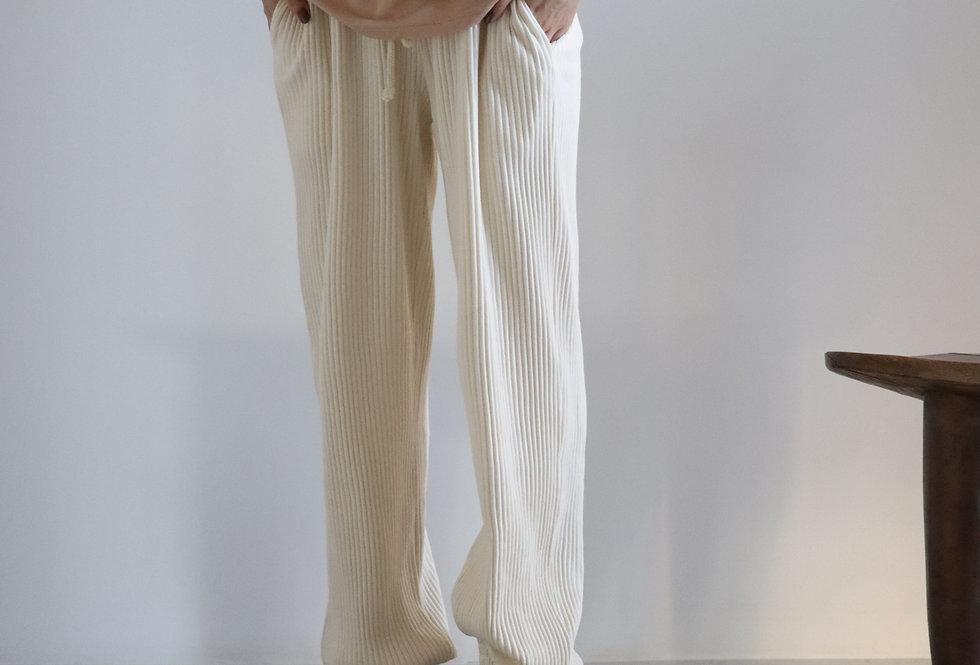 Baserange Sweat Pants Off White