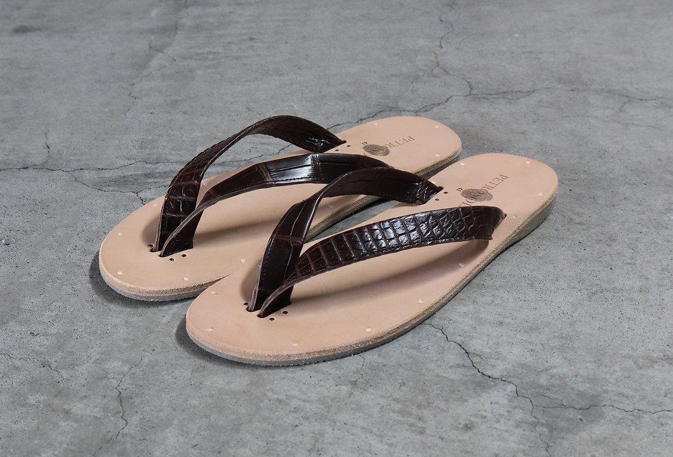 PETROSOLAUM b-sandal crocodile